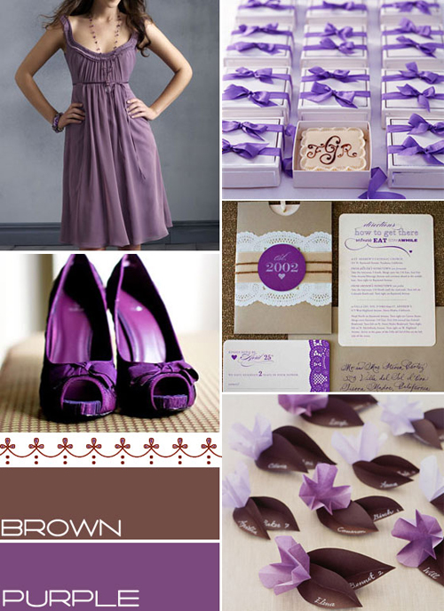 Tema Brown & Purple