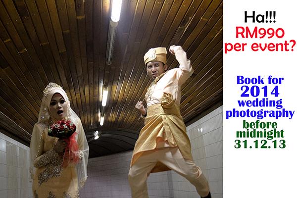 Promosi Fotografi Perkahwinan 2014