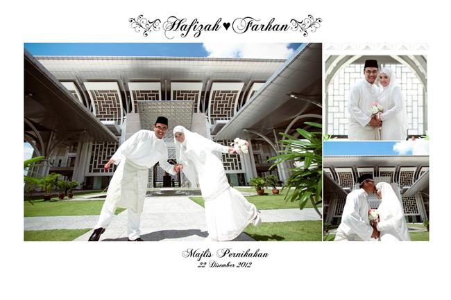 Akad Nikah di Masjid Besi