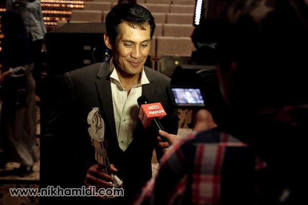 Pelakon Lelaki Terbaik melalui filem Bunohan - Faizal Hussin