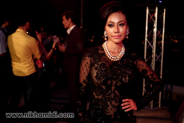 Lana Nordin a.k.a. Pamela Anderson Malaysia