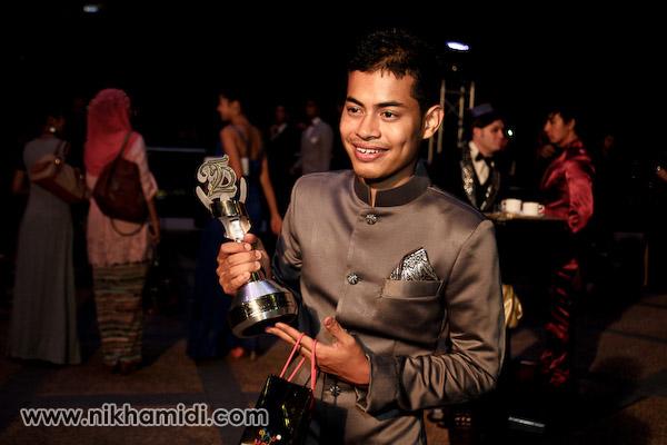 Pelakon Pembantu Lelaki Terbaik - Syafie Naswip dari filem Songlap