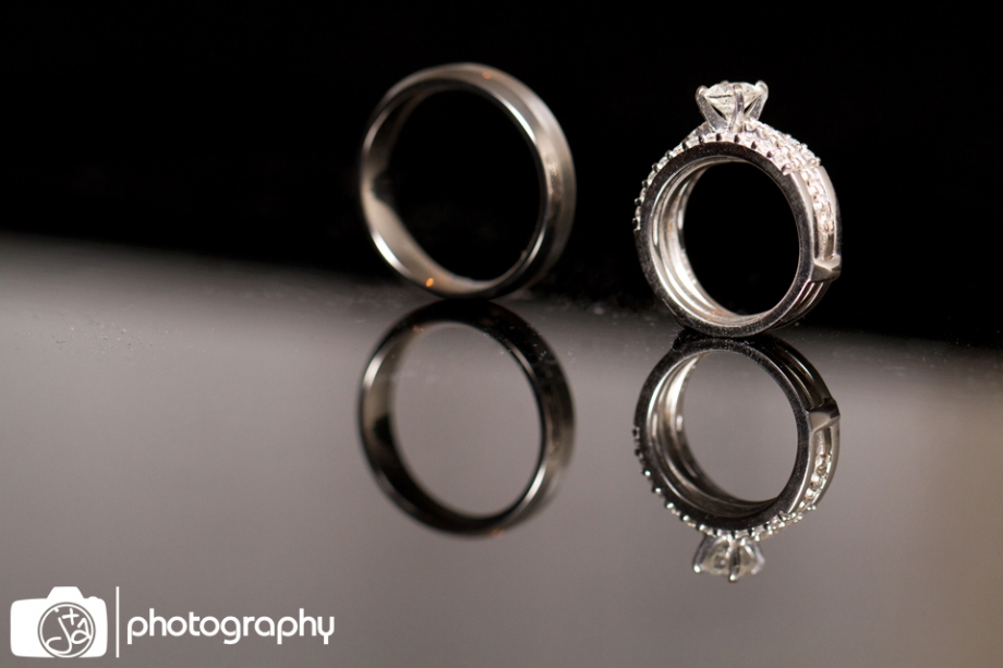 Ring shot with reflection