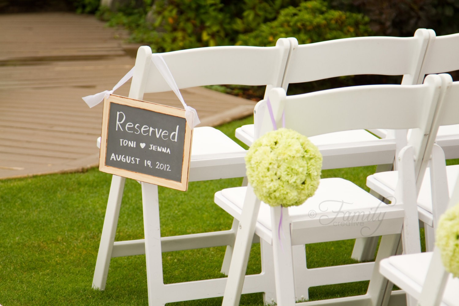wedding chalkboard reserved sign bride and - diy place card ideas-f45645